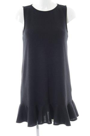 Asos A-Linien Kleid schwarz-blau Business-Look