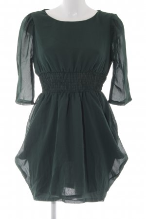 Asos A-Linien Kleid waldgrün Elegant
