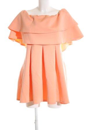 Asos Abendkleid apricot-lachs Elegant