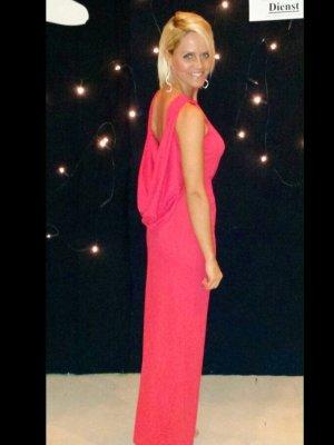 Asos Abendkleid Ballkleid Langes Kleid rot Gr. S NEUwertig!