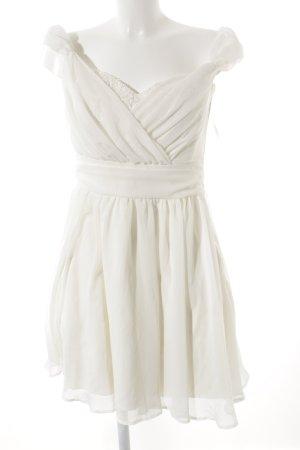 Asos Abendkleid creme-wollweiß Elegant