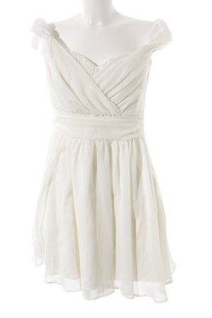 Asos Evening Dress cream-natural white elegant