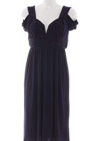 Asos Evening Dress dark blue elegant