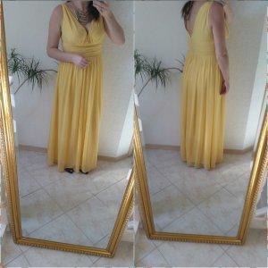 Asos Abendkleid gelb 40