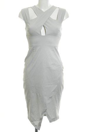 Asos Evening Dress light grey casual look