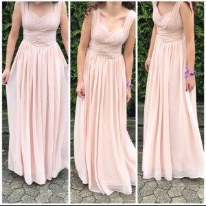 Asos Abendkleid in nudefarben