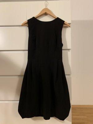 Asos vestido de globo negro Poliéster