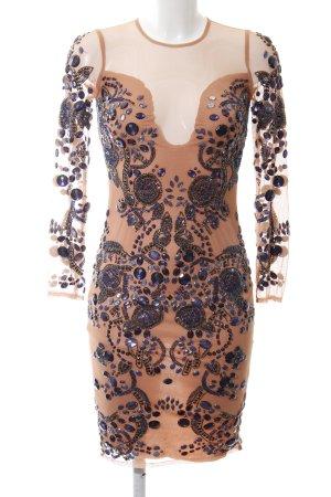 Asos Abendkleid nude-dunkelviolett Elegant