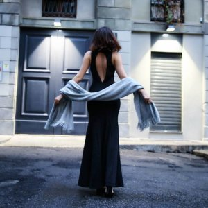 Asos Abendkleid schwarz 38