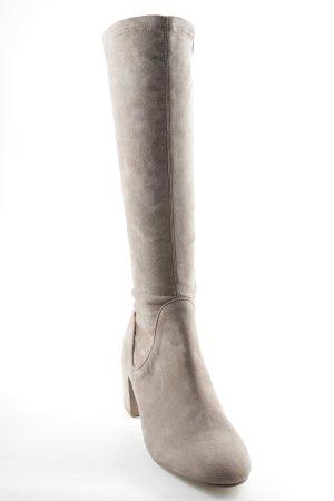 Asos Absatz Stiefel beige Casual-Look