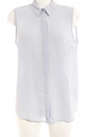 Asos Sleeveless Blouse purple transparent look