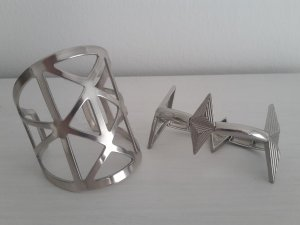 asos Armreif Set silber Armspange Armband