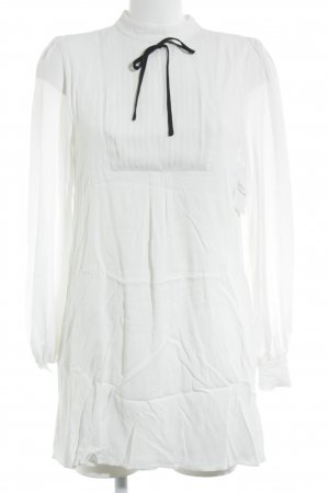 Asos Babydoll Dress white-black casual look