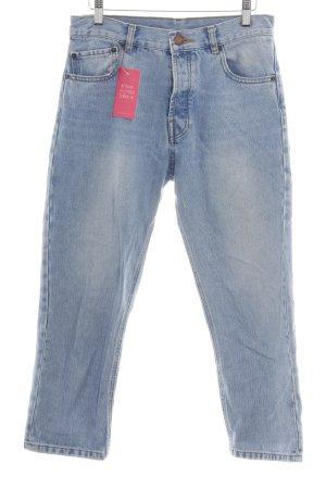 Asos Baggy Jeans cornflower blue casual look