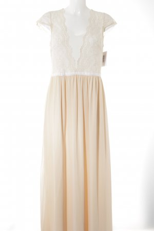 Asos Ball Dress nude-white party style