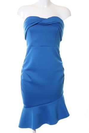 Asos Bandeaujurk blauw elegant