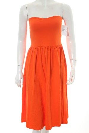 Asos Bandeaukleid orange Casual-Look