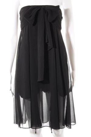 Asos Bandeaujurk zwart elegant