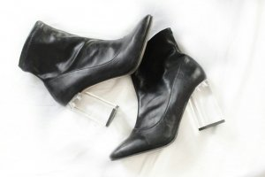Asos Blogger Heel Sock Boots Transparent Durchsichtiger Absatz Style Booties