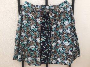 Asos Skater Skirt multicolored