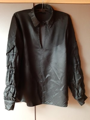 Asos Long Sleeve Blouse black