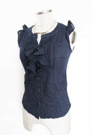 ASOS Bluse süß & sexy Rüschen Gr. XS UK 6 Shirt Blusentop