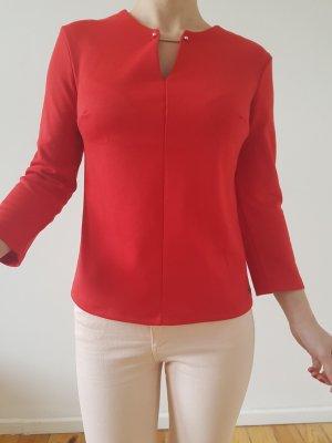 Asos Bluse XXS XS 32 34 rot Schmuck Oberteil Longshirt Tunika Shirt Top Neu