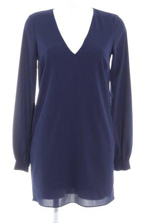 Asos Blouse Dress dark blue casual look