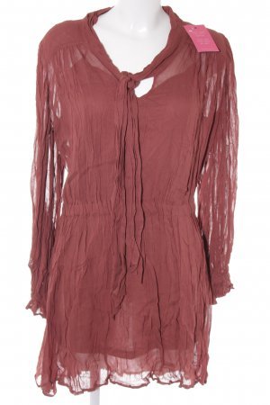 Asos Blouse Dress russet Boho look