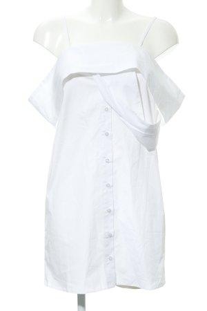 Asos Robe chemisier blanc élégant