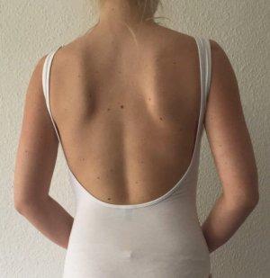 Asos Body weiß 36 Rückenausschnitt