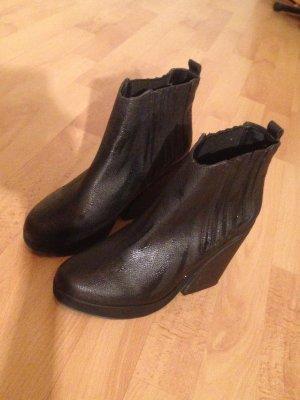 asos boots stiefeletten schwarz