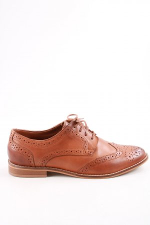 Asos Wingtip Shoes brown casual look