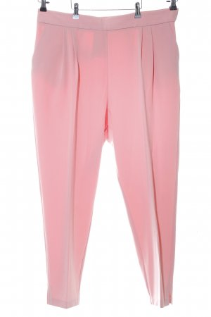 Asos Bandplooibroek roze casual uitstraling