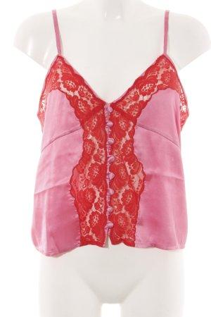 Asos Camisola rosa-rojo elegante