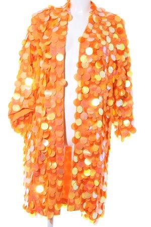Asos Cardigan licht Oranje Jaren 90 stijl
