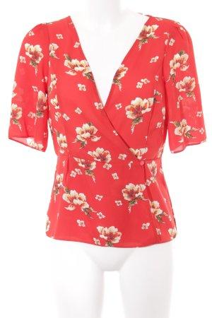 Asos Cardigan rot florales Muster Romantik-Look