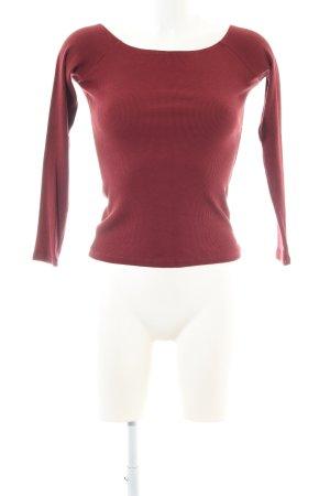 Asos Carmen shirt rood casual uitstraling
