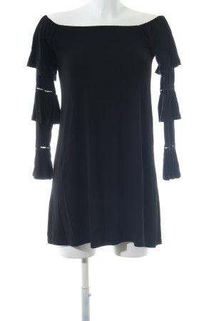 Asos Carmen Shirt black casual look
