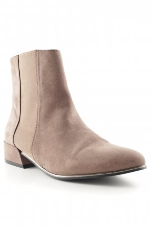Asos Chelsea Boots graulila Casual-Look