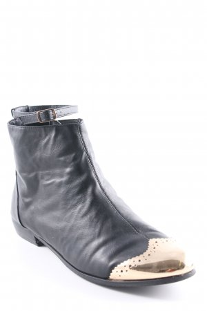 Asos Chelsea Boots black-gold-colored casual look