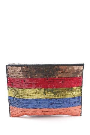 Asos Clutch gestreept patroon extravagante stijl