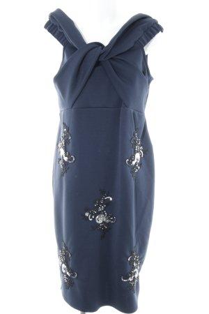 Asos Cocktailkleid dunkelblau Elegant