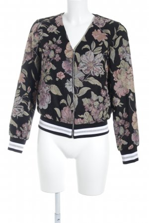 Asos College Jacket flower pattern college style