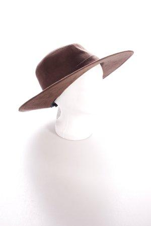 Asos Cowboyhut braun Wildleder-Optik