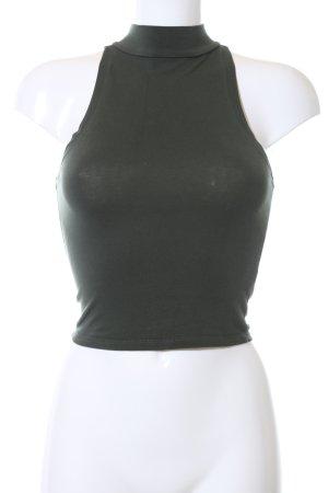 Asos Cropped Top khaki casual look