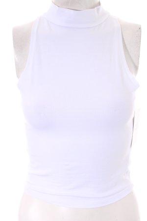 Asos Cropped Top weiß klassischer Stil