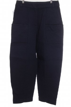 Asos Falda pantalón de pernera ancha azul oscuro look «Brit»