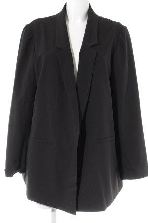 asos curve Lange blazer zwart elegant