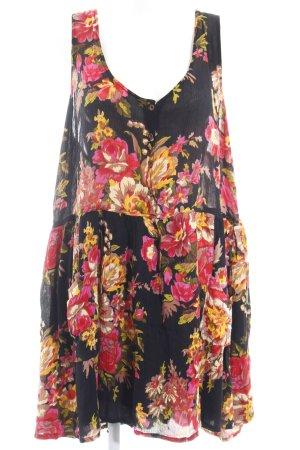 asos curve Mini vestido estampado floral look Boho